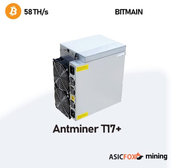 Antminer T17+ 58Th-s